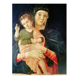 The Virgin and Child Blessing, 1460-70 Postcard