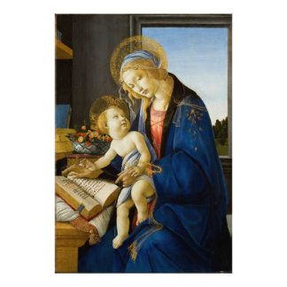 The Virgin and Child by Sandro Botticelli Photographic Print