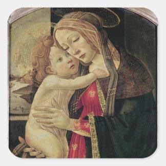 The Virgin and Child, c.1500 Square Sticker