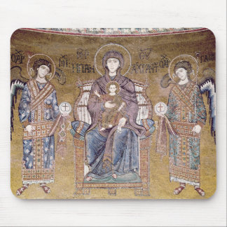 The Virgin and Child Mouse Pads