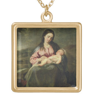 The Virgin and Child Pendant