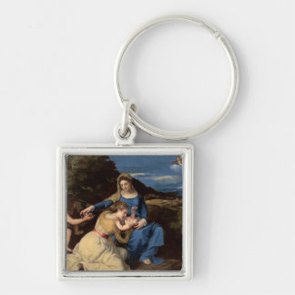 The Virgin and Child with Saints, 1532 Key Chains