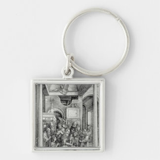 The Virgin and Child with Saints Keychains