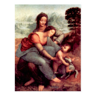The Virgin and Child with St. Anne Postcard