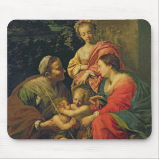 The Virgin and Child with St. Elizabeth, the Infan Mouse Pad