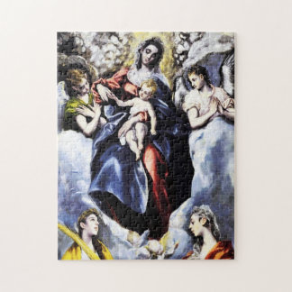 The Virgin and Child with St. Martina Puzzle