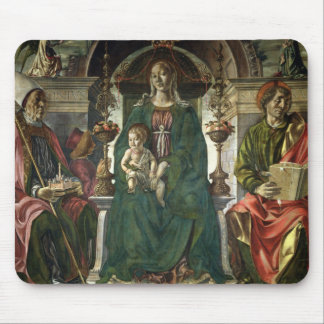 The Virgin and Saints, 1474 Mouse Pad