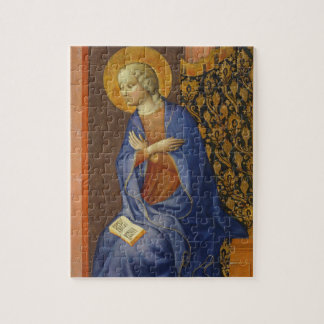The Virgin Annunciate, c. 1430 (tempera on panel) Jigsaw Puzzle