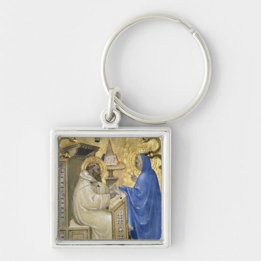 The Virgin appearing to St. Bernard, detail from a Keychains
