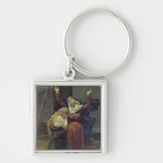 The Virgin at the Foot of the Cross Keychain