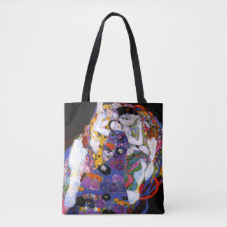 The Virgin by Gustav Klimt Fine Art Tote Bag