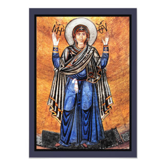 The Virgin Mary Oran Card