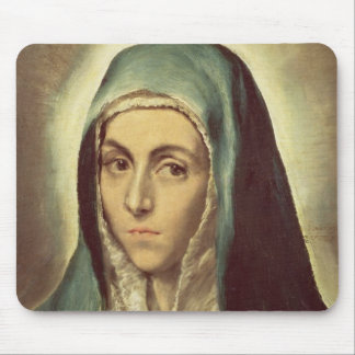 The Virgin Mourning (oil on canvas) Mouse Pad