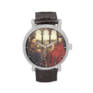 The Virgin of Chancellor Rolin by Jan van Eyck Wristwatches