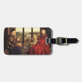 The Virgin of Chancellor Rolin by Jan van Eyck Luggage Tag