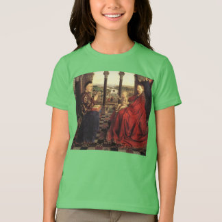 The Virgin of Chancellor Rolin by Jan van Eyck T-Shirt