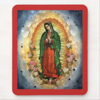 The Virgin of Guadalupe Mouse Pad