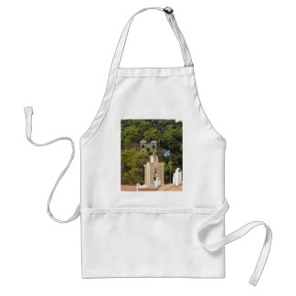 The Virgin Of Kykkos  And Her Holy Monastery Standard Apron