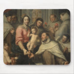 The Virgin of the Carmelites Mousepad