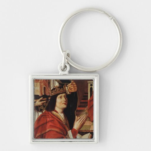 The Virgin of the Catholic Kings Keychain