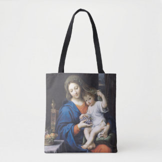 The Virgin of the Grapes, 1640-50 Tote Bag