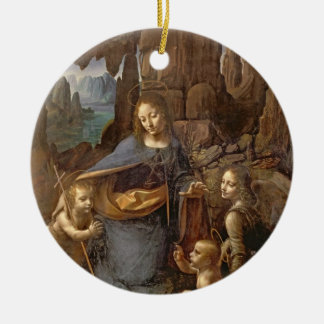 The Virgin of the Rocks Ornaments