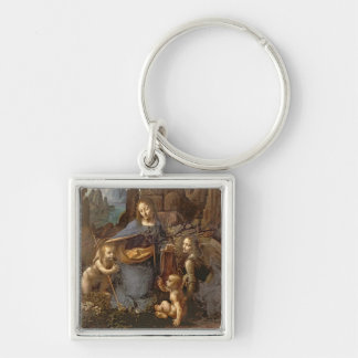 The Virgin of the Rocks Key Chains
