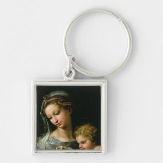 The Virgin of the Rose, c.1518 Key Chain