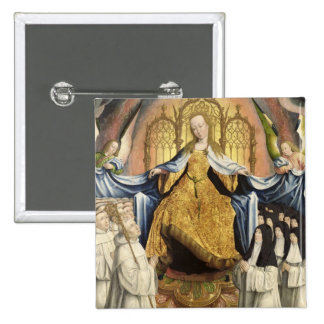 The Virgin Sheltering the Order of Citeaux 15 Cm Square Badge
