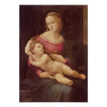 The Virgin (The Bridgewater Madonna) by Raphael Posters