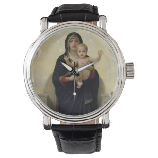 The Virgin with Angels, 1900 Wristwatch