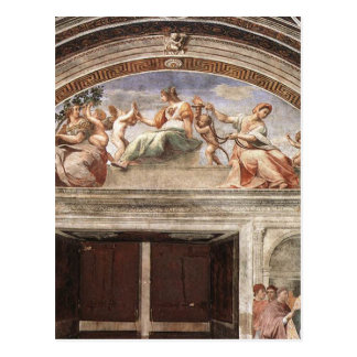 The Virtues by Raphael Postcard
