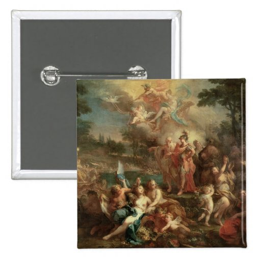 The Vision of Aeneas in the Elysian Fields Pin