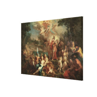 The Vision of Aeneas in the Elysian Fields Canvas Prints