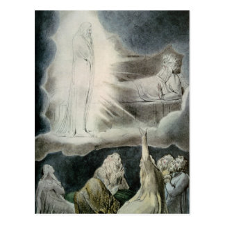 The Vision of Eliphaz, 1825 Postcard