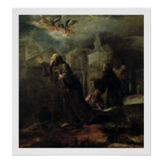 The Vision of St. Francis of Paola Poster