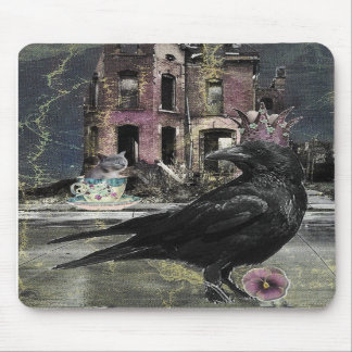The Visit of the Crow King mousepad