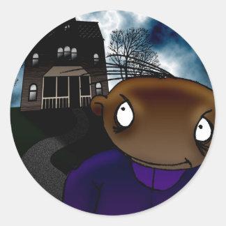 The Visit Round Sticker