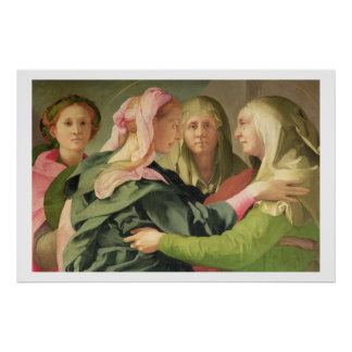 The Visitation (detail of 60438) Poster