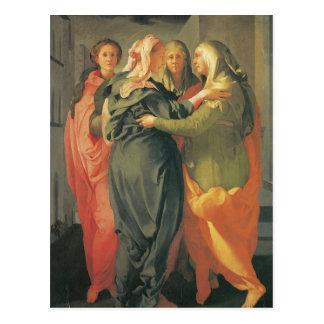 The Visitation - Jacopo Da Pontormo Postcards