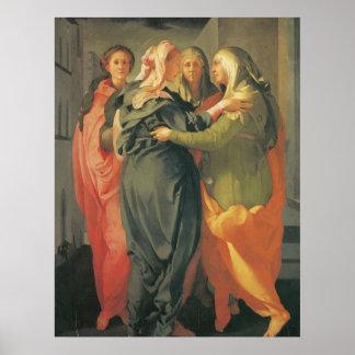 The Visitation - Jacopo Da Pontormo Poster