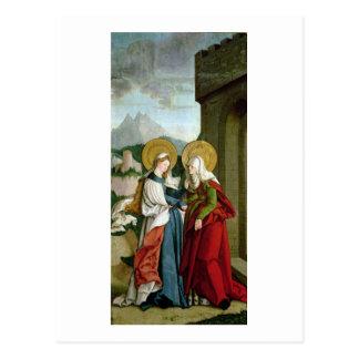 The Visitation (oil on panel) Postcard
