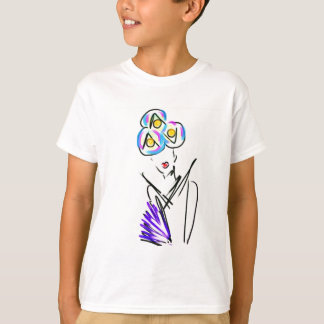 The Visitor Fashion Illustration T-Shirt
