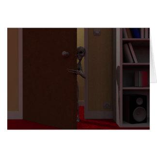 The Visitors - Intruder Card