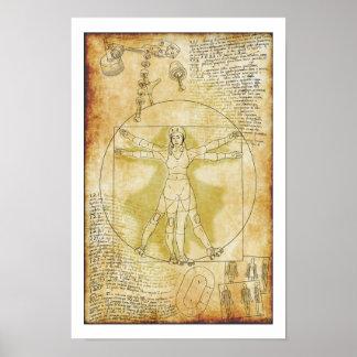 The Vitruvian Rollergirl (Ria Culpa, 2015) Poster