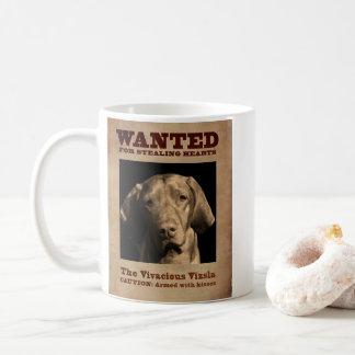 The Vivacious Vizsla Coffee Mug