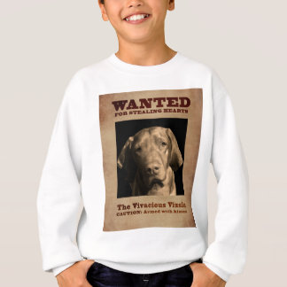 The Vivacious Vizsla Sweatshirt