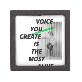 The voice in your head is the most alive premium jewelry boxes