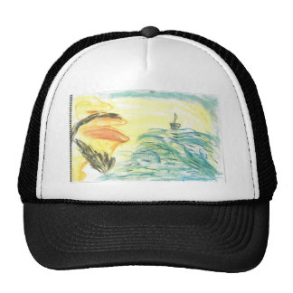 The voice upon the waters hat