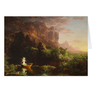 The Voyage of Life: Childhood - Thomas Cole Card